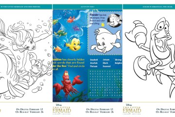 The Little Mermaid 30th Anniversary Activity Pages - Theresa's Reviews