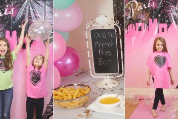 Oh La La! The Perfect Paris Birthday Party for Tweens - Theresa's Reviews