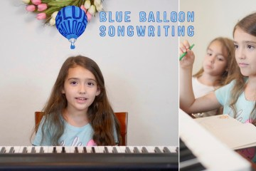 Our Blue Balloon Songwriting Lesson Experience - Theresa's Reviews