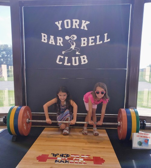 Weekend Family Getaway to Hershey and Harrisburg - Weightlifting Hall of Fame at York Barbell Company - Theresa's Reviews