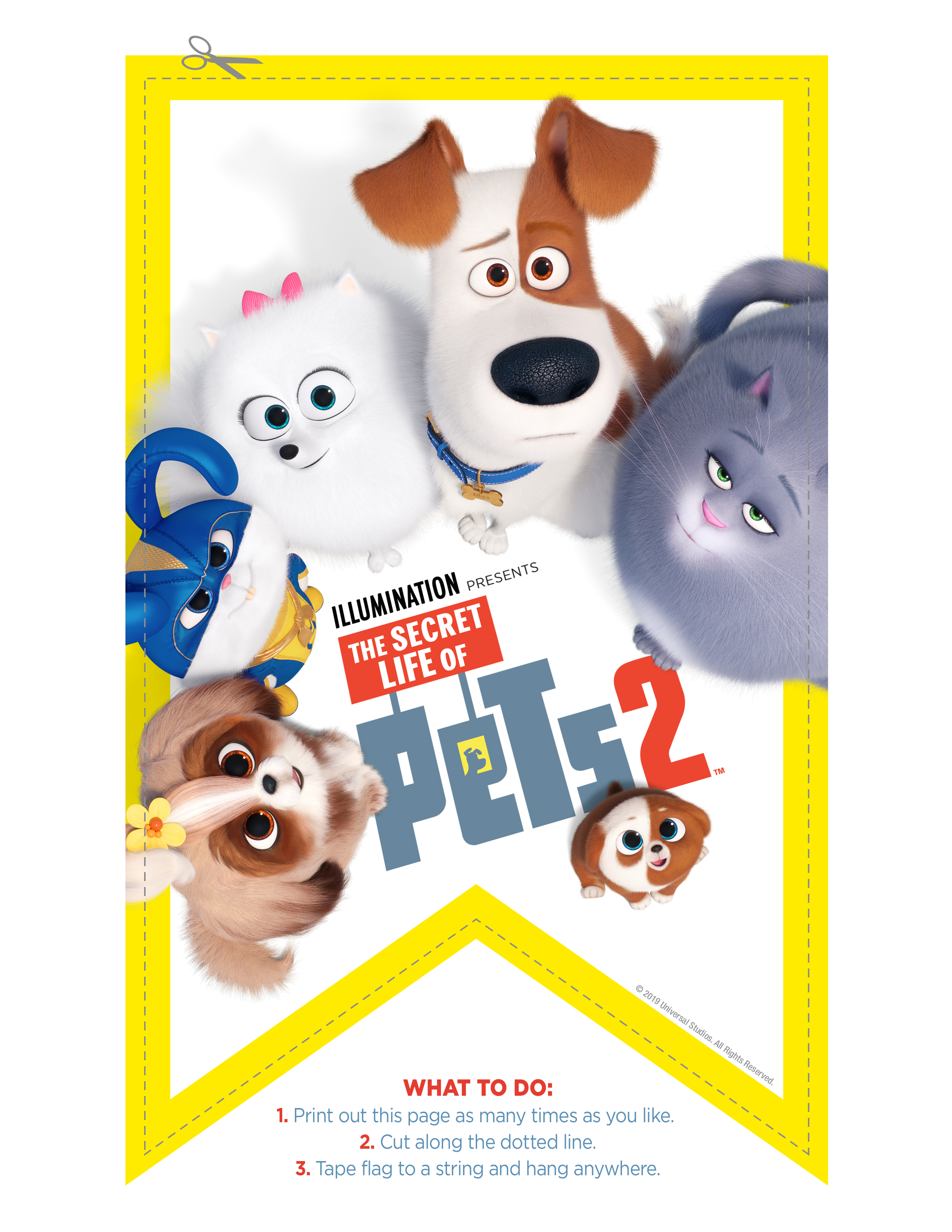 The Secret Life Of Pets 2 20 Free Printable Activities