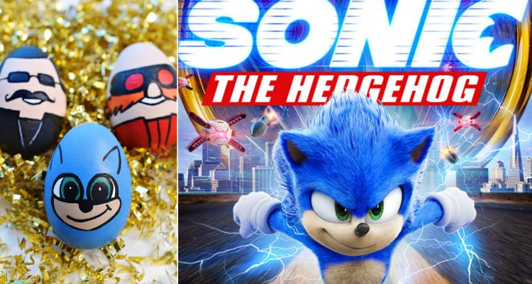 Sonic the Hedgehog Easter Eggs & DIY Craft