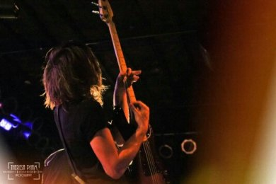 """Kennedy Brock of The Maine playing the Bottom Lounge in Chicago apart of the 2013 """"8123 Tour"""""""