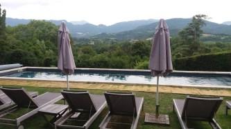Domain de Blacons - Pool view