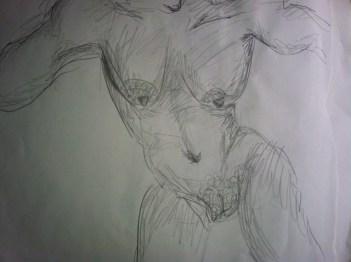 untitled nude by Cassandra Speicher