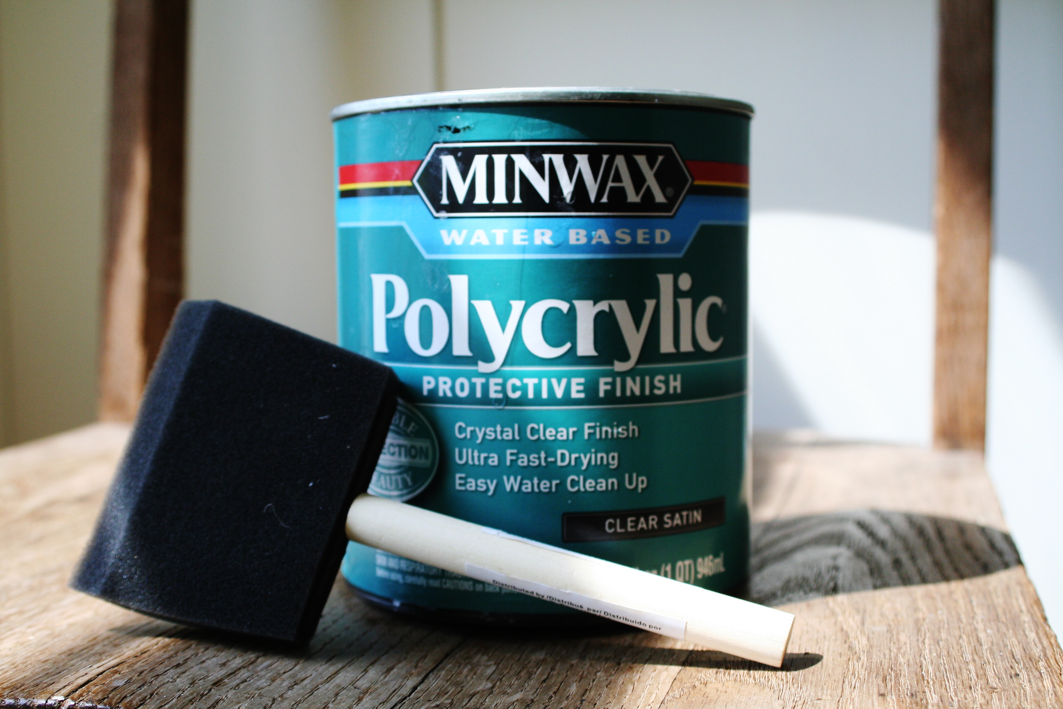 Applying Minwax Polycrylic Over Paint | WoodWorking