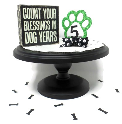 Green Dog Birthday Crown, Misfit Manor Shop, Nancy Halverson, The Rescue Mama, Dog Party Favors