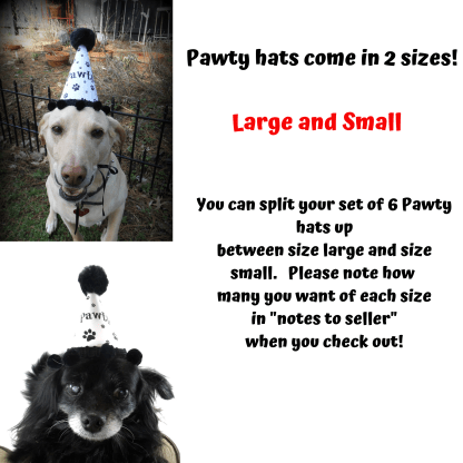 Dog Party Hats, MIsfit Manor Shop