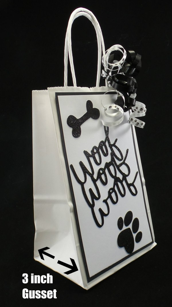 Dog Party Favor Bag, Dog Birthday Party Favors, Misfit Manor Shop