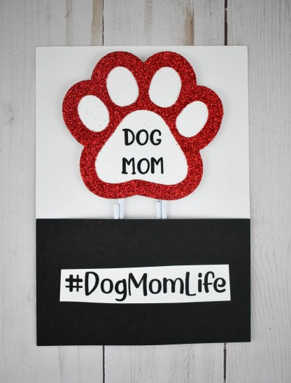 Dog Mom Bookmark, The Misfit Manor Shop