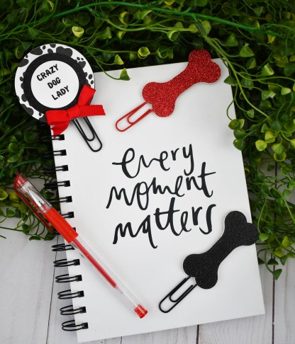 Crazy Dog Lady Planner Clip Set, The Misfit Manor Shop