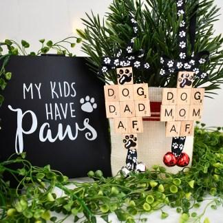 Dog Mom AF Dog Dad AF