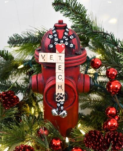 Vet Tech Gift Ornament