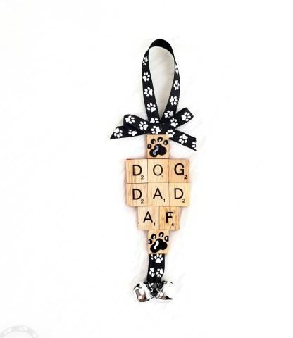 Dog Dad AF Ornament Gift - The Misfit Manor Shop