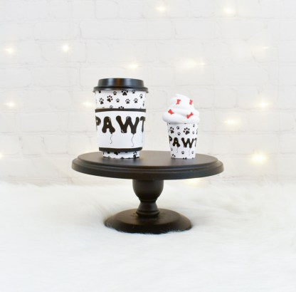 Paw Print Party Cups