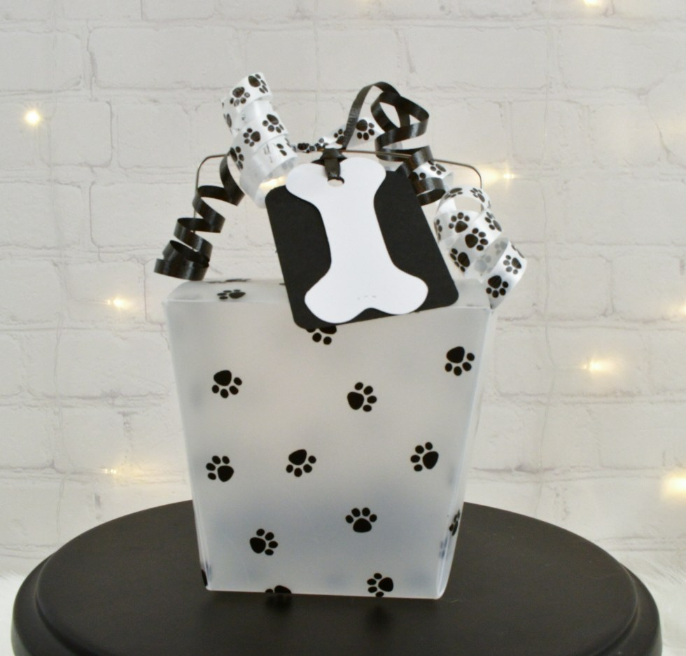 Paw Print Party Favor Boxes