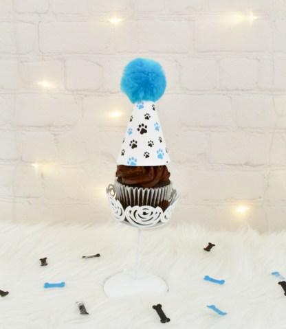 Paw Print Cupcake Topper