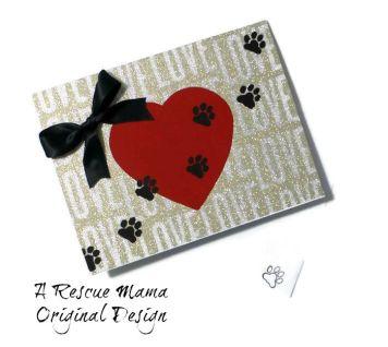 dog sympathy card, cat sympathy card, dog condolence card, cat condolence card