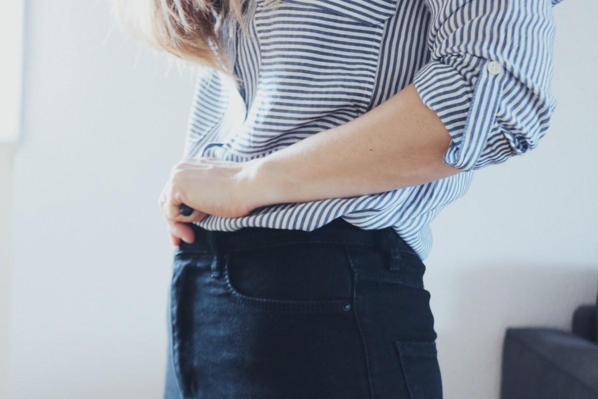 jean taille haute blog mode style thereseandthekids