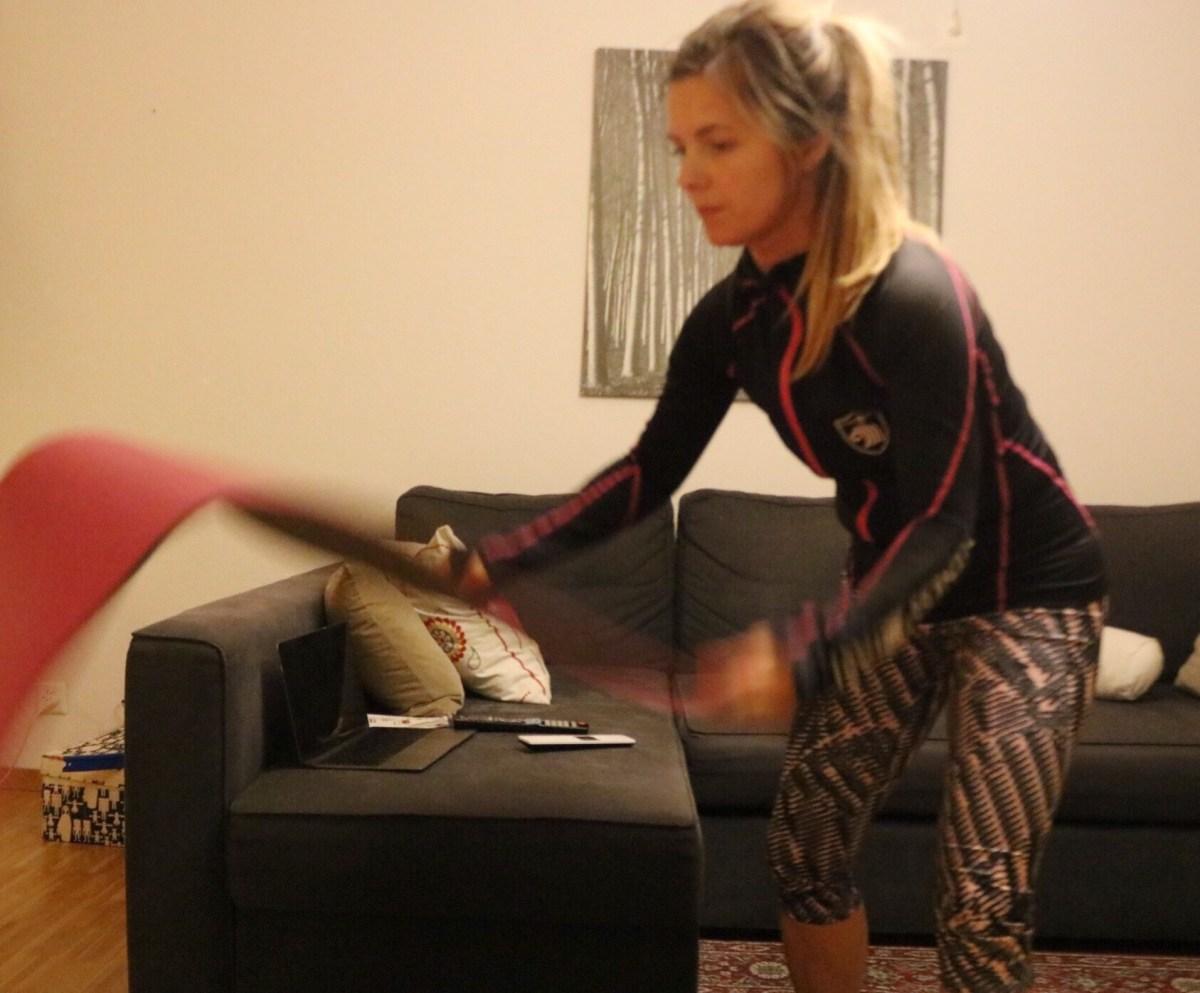 routine sport enfant maman blog thereseandtheikids