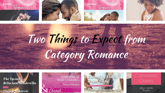 Two Things to Expect from Category Romance