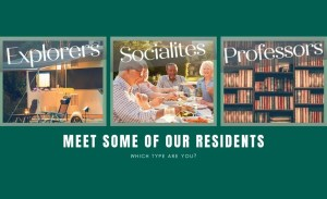 The Reserves - Meet the different types of residents