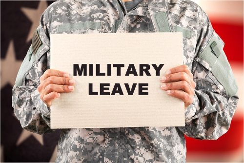Military Leave benefits- PTO calculator