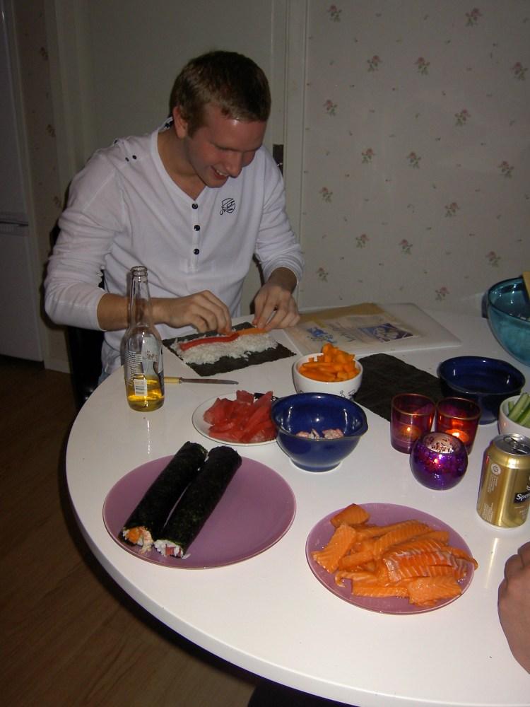 Sushi, histaminintollerans och lampjävlar... (1/3)