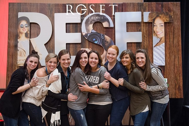 Reset Conference for photographers videographers staff