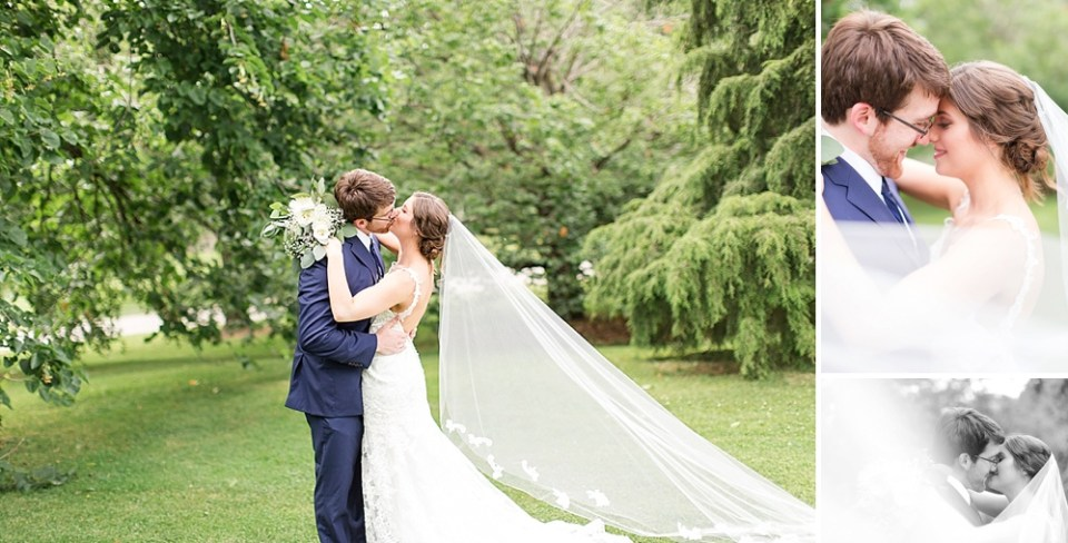 elegant bride and groom photos
