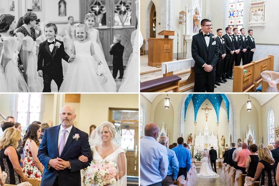 wedding ceremony in Springfield