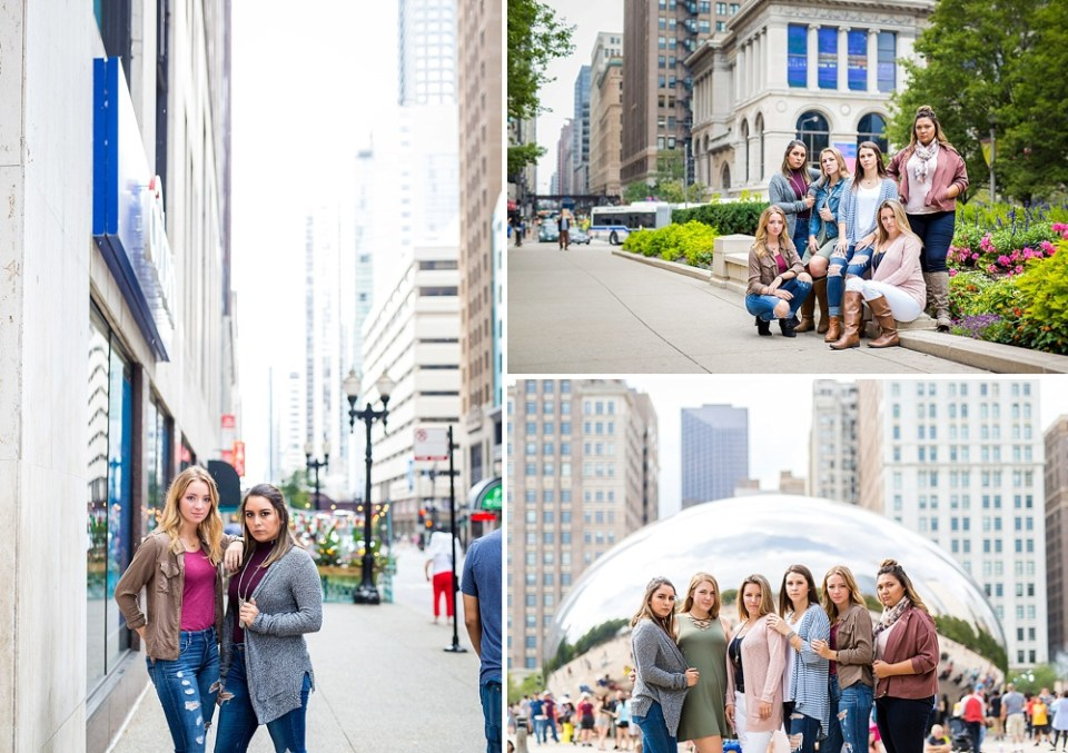 senior sessions in Chicago