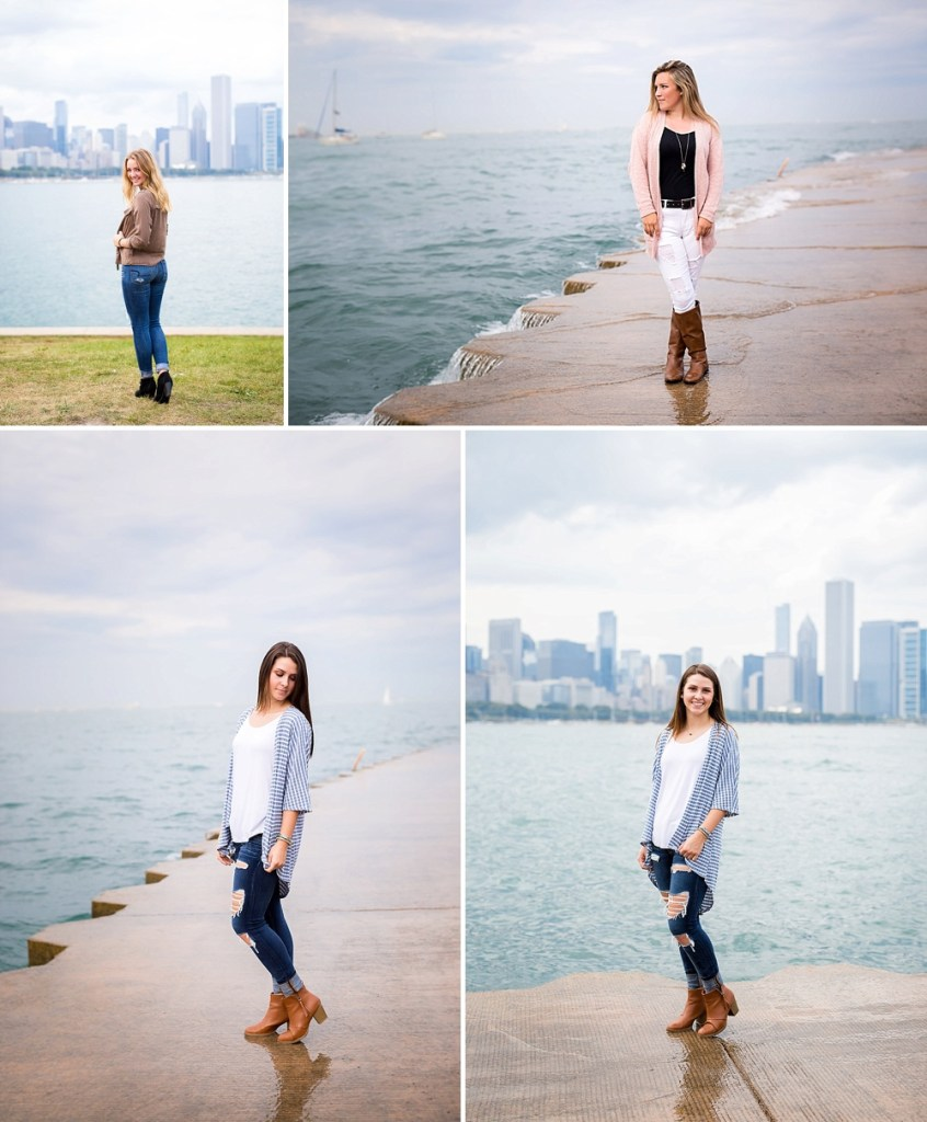 senior photos in the windy city