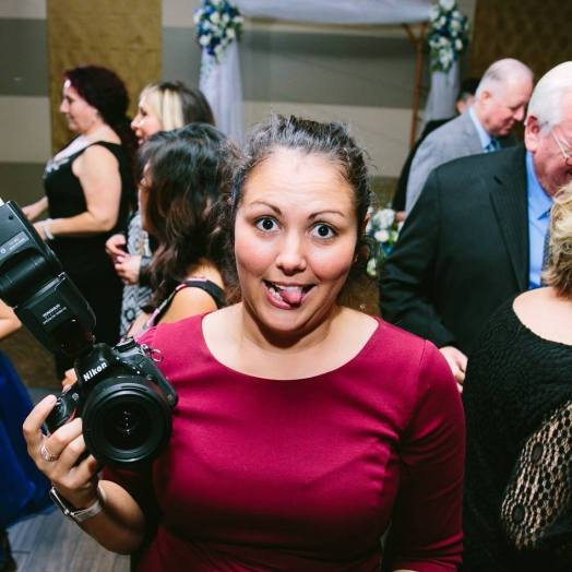 being a wedding photographer is a dirty job