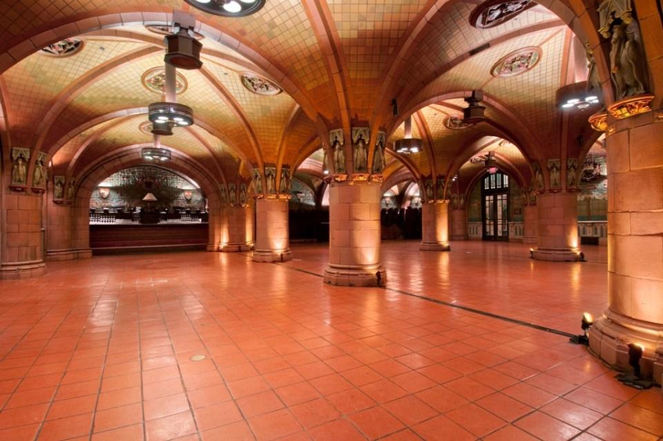 Rathskeller ballroom at Seelbach hotel