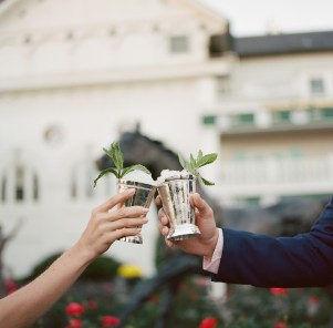 mint juleps at the Kentucky Derby