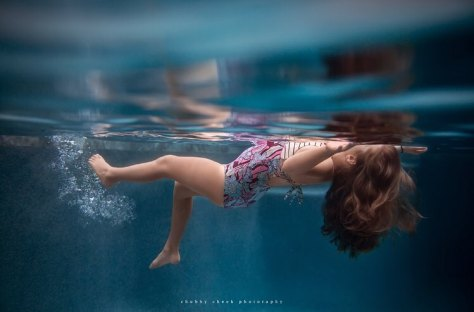 Underwater camera housing photography