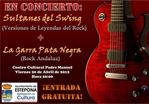 Sultanes del Swing and La Garra Pata Negra in concert