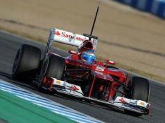 F1 testing at Jerez