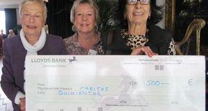 CAP donation to Caritas