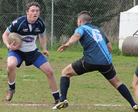 Senior - Ross Hammill in attack