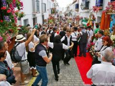 San Isidro celebrations in Estepona