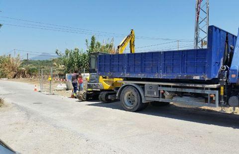 Rio Manilva Road widening