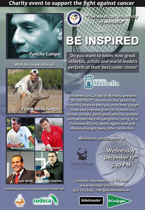 Be Inspired Conference in Marbella