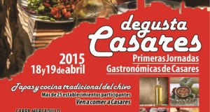 Casares gastronomy days poster