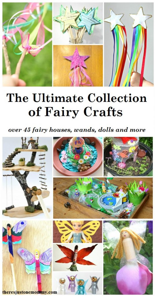 The Ultimate Collection of Fairy Crafts from There's Just One Mommy