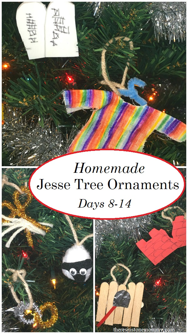 Homemade Jesse Tree Ornaments For Days 8 14 Theres Just