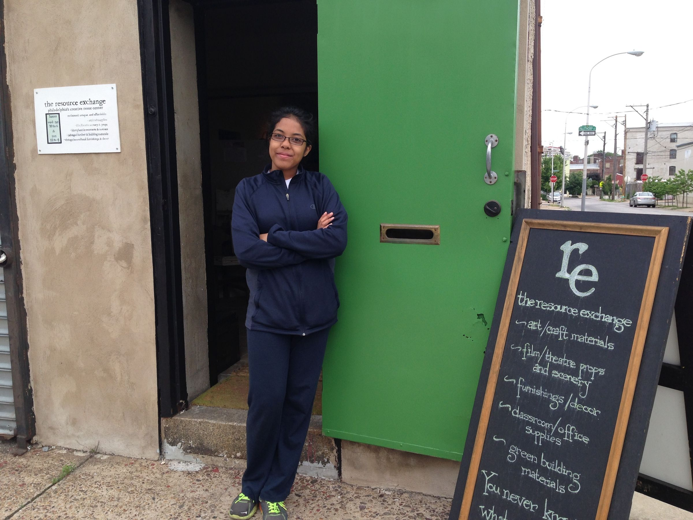 Read more about the article Intern Doreen does Senior Project at the re!