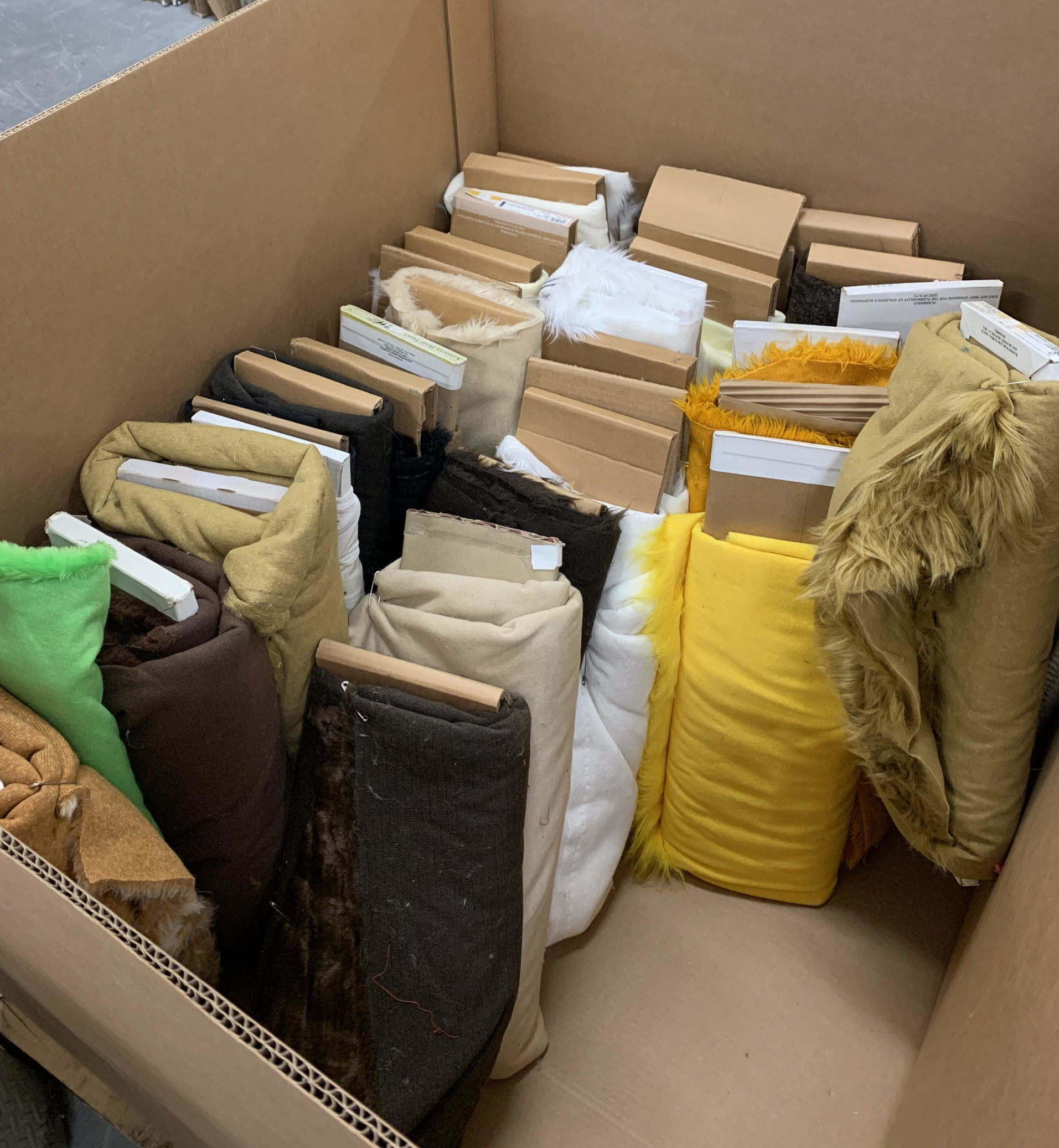 Read more about the article Faux Fur Diverted from Landfill by Character Translations