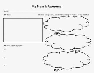 My Brain is Awsome student worksheet